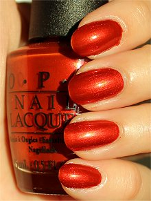 OPI Deutsche You Want Me Baby Swatches &amp; Review