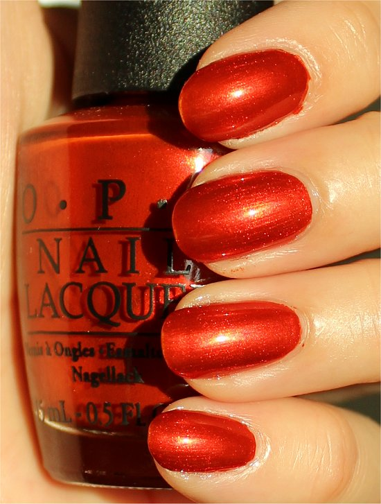 OPI Deutsche You Want Me Baby Swatches & Review