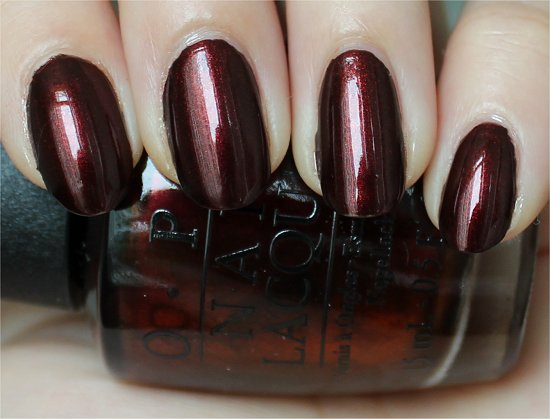 OPI Every Month Is Octoberfest Swatch & Review