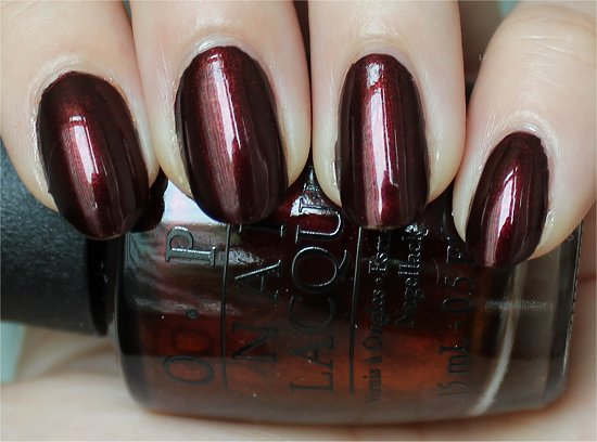 OPI Every Month Is Octoberfest Swatches, Review & Pictures