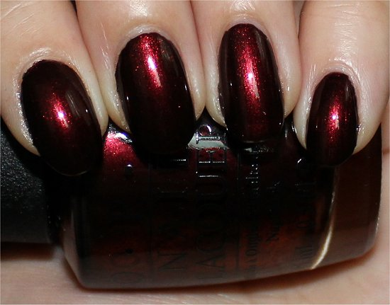 OPI Every Month Is Oktoberfest Review &amp; Swatches