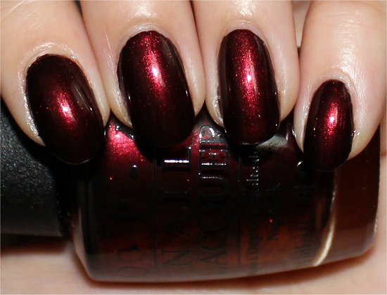 OPI Every Month Is Oktoberfest Swatch &amp; Review