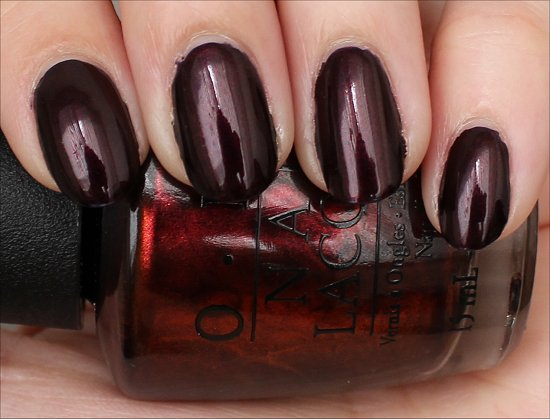 OPI German-icure Swatches & Review