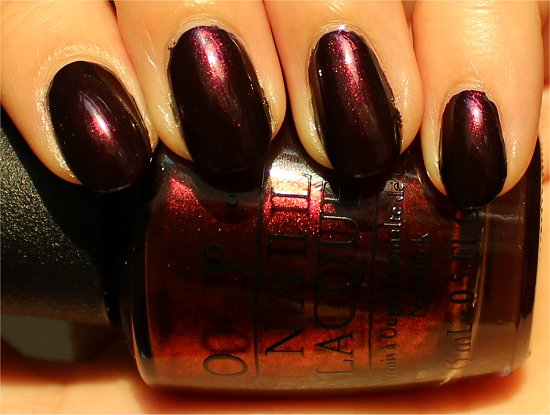 OPI German-icure by OPI Review &amp; Swatch