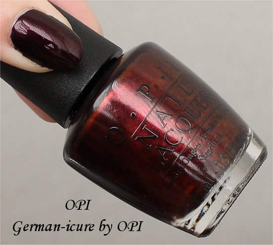 OPI Germanicure Review & Swatches