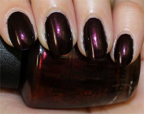 OPI Germanicure Swatch & Review