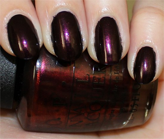 OPI Germanicure Swatches & Review