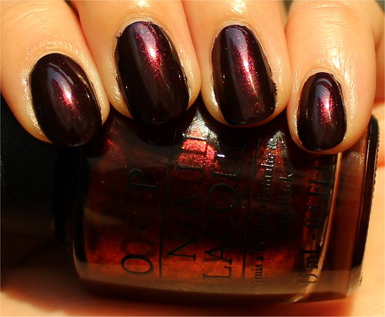 OPI Germanicure by OPI Swatch & Review