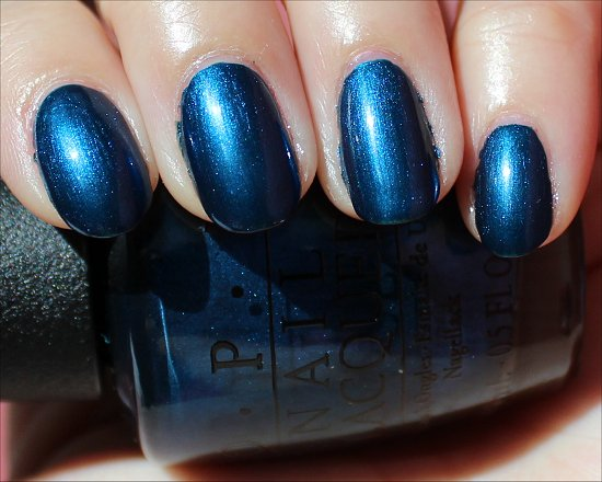 OPI Unfor-Greta-bly Blue Review & Swatch