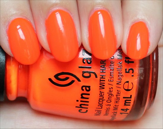 Orange Knockout China Glaze Review & Swatches