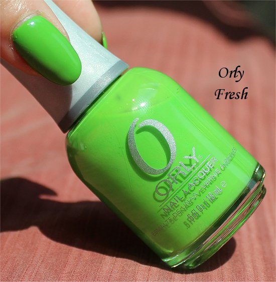 Orly Fresh Review & Swatches