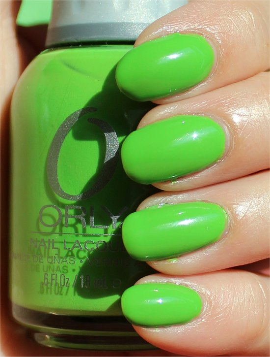Orly Fresh Swatches & Review