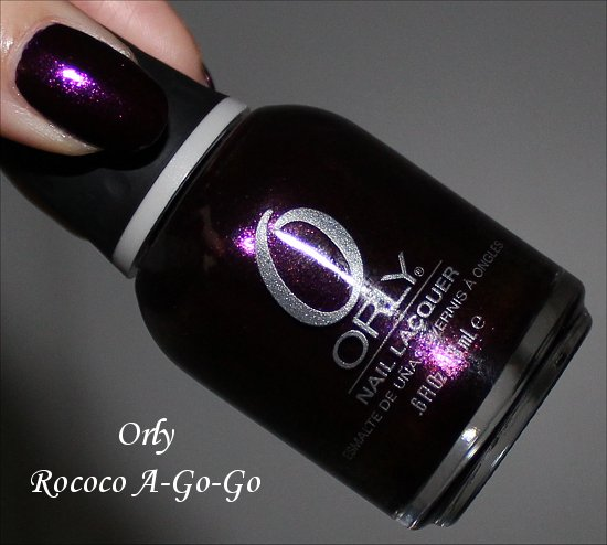 Orly Rococo A-Go-Go Orly Mineral FX Collection Swatches &amp; Review