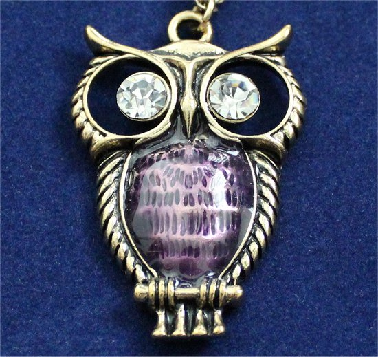 Owl Necklace Photos