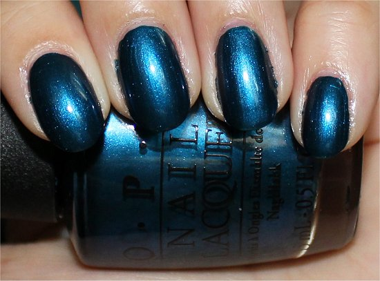 Unfor-Greta-bly Blue by OPI Germany Collection 2012 Swatches & Review