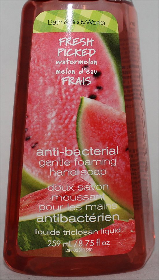 Bath & Body Works Fresh Picked Watermelon Soap Review & Pictures