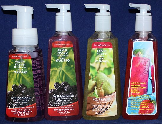 Bath & Body Works Haul Hand Soap Photos