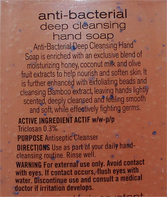 Bath & Body Works Peach Bellini Anti-Bacterial Deep Cleansing Hand Soap Ingredients & Review
