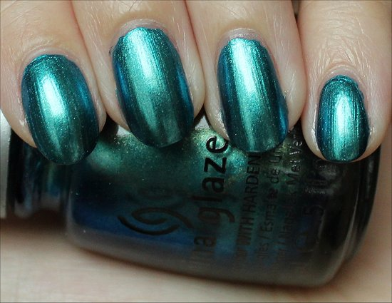 China Glaze Deviantly Daring Swatch & Review