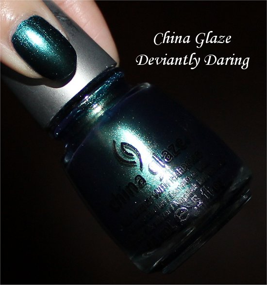 China Glaze New Bohemian Collection Swatches Deviantly Daring