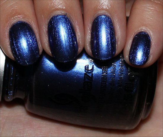 China Glaze New Bohemian Want My Bawdy Review & Swatch