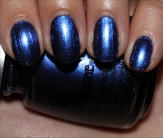 China Glaze New Bohemian Want My Bawdy Swatch & Review