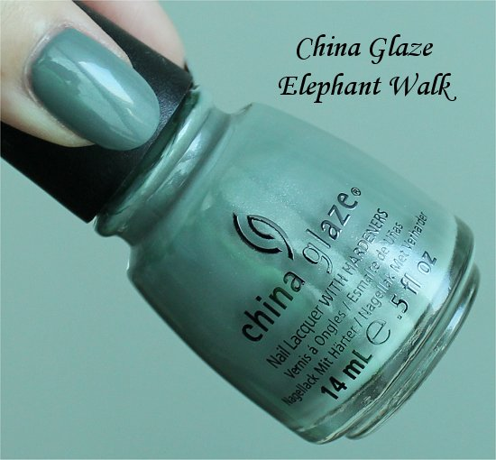 China-Glaze-On-Safari-Collection-China-Glaze-Elephant-Walk-Swatch-Review