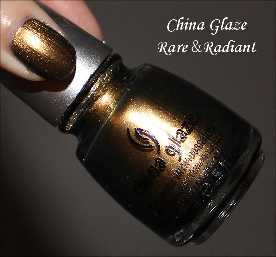 China Glaze Rare &amp; Radiant Swatches &amp; Review