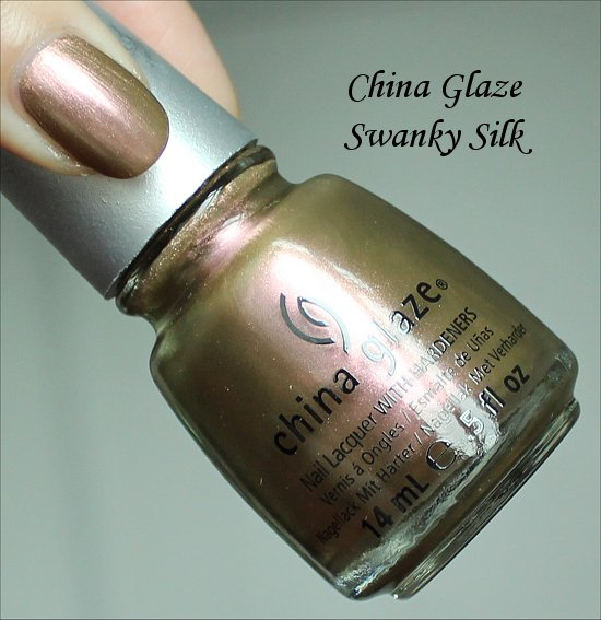 China Glaze Swanky Silk New Bohemian Collection Swatches & Review