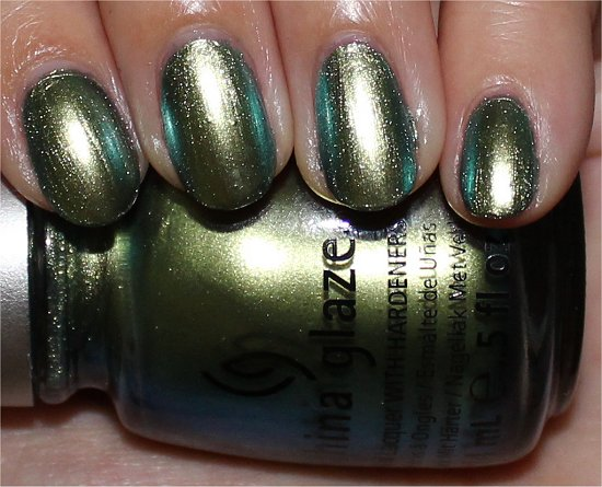 China Glaze Unpredictable Photos
