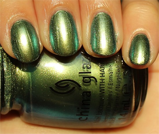 China Glaze Unpredictable Swatch & Review