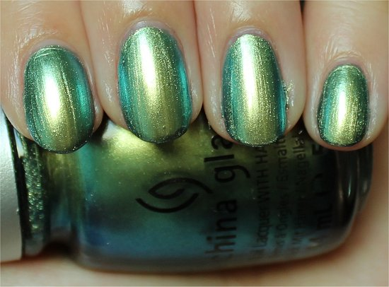 China Glaze Unpredictable Swatch