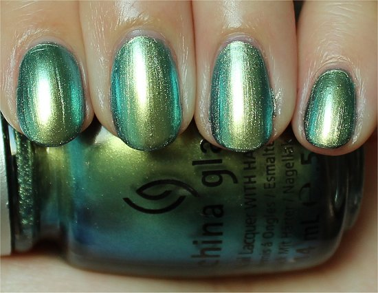 China Glaze Unpredictable Swatches