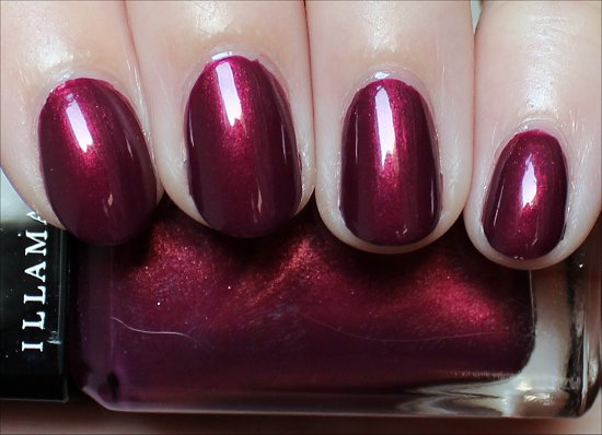 Illamasqua Charisma Swatch & Review