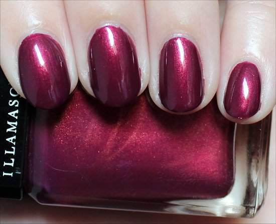 Illamasqua Charisma Swatches & Review