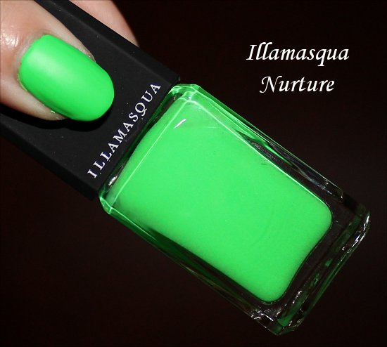 Illamasqua Nurture Rubber Brights Collection Swatches & Review