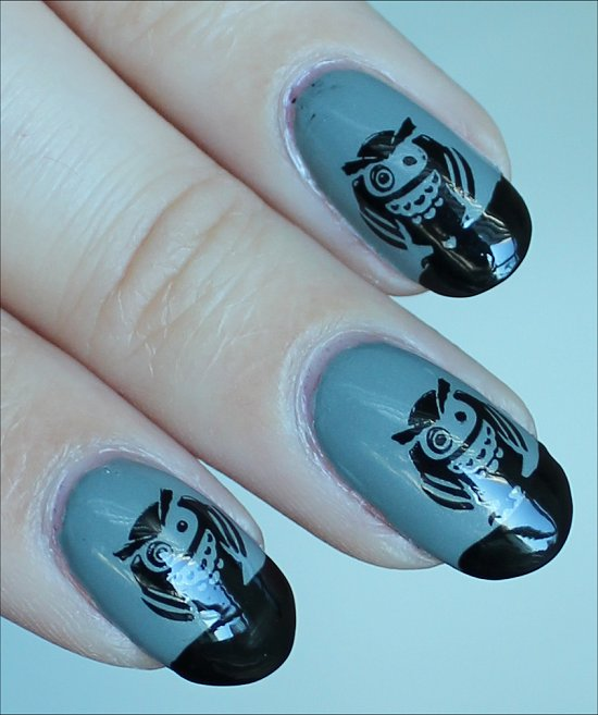 Owl-Nails-Nail-Art-Photos