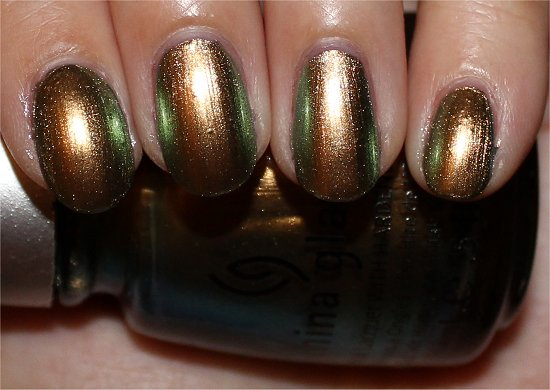 Rare and Radiant China Glaze New Bohemian Collection Swatches