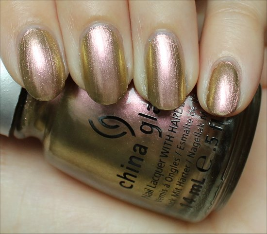 Swanky Silk China Glaze Swatches & Review New Bohemian Collection 2012