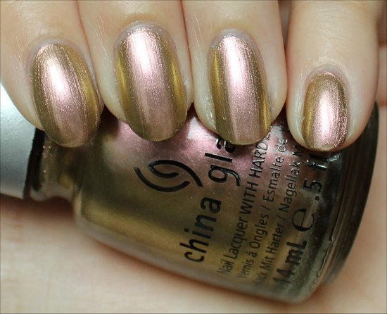 Swanky Silk by China Glaze Swatches & Review