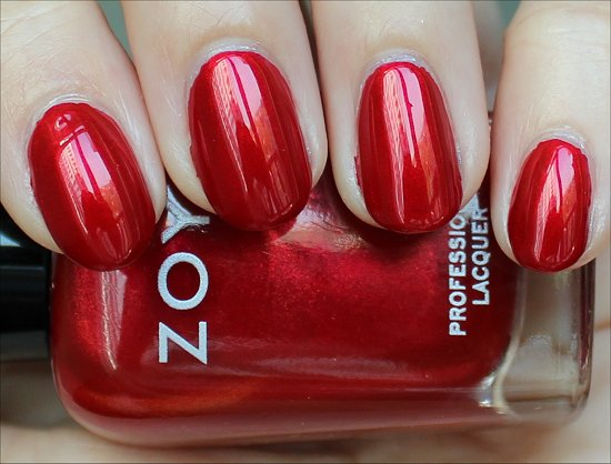 Zoya Elisa Swatch &amp; Review