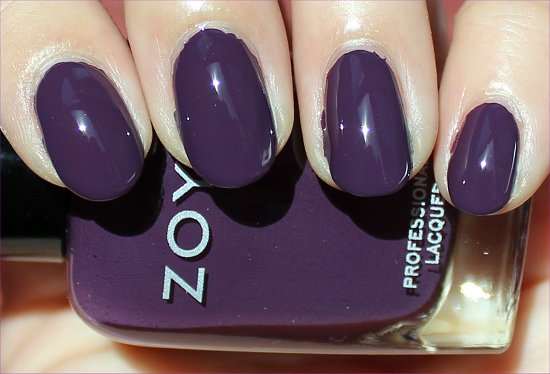 Zoya Monica Swatch & Review