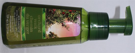 Bath & Body Works Orchard Walk Hand Soap Review & Photos