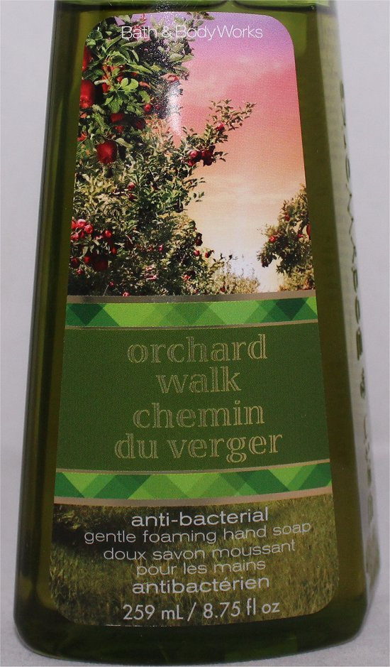 Bath and Body Works Orchard Walk Hand Soap Review & Pictures