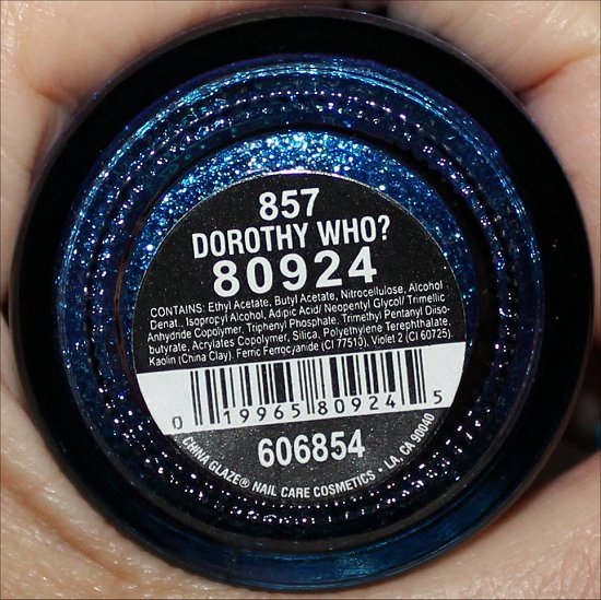 China-Glaze-Dorothy-Who-Ingredients