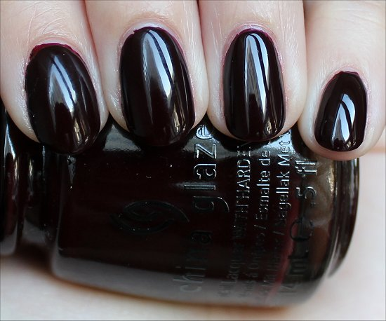China Glaze Prey Tell Swatches & Review