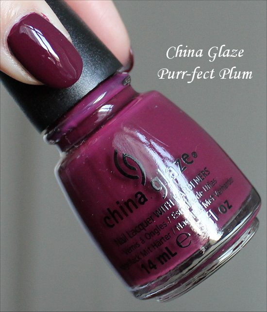 China Glaze Purr-fect Plum