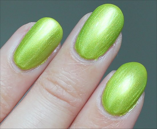 Finger Paints Guggen I'm Lime Review & Swatch