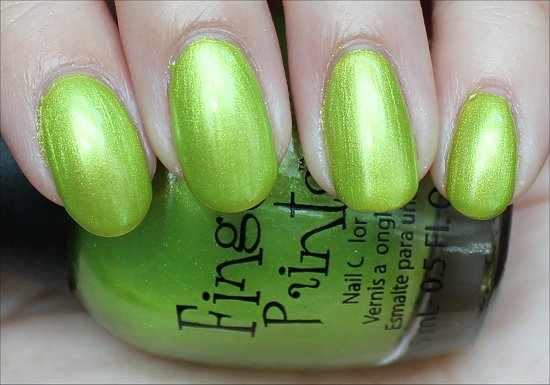 Finger-Paints-Guggen-I'm-Lime-Swatches-Review