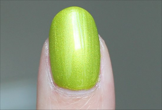 Finger Paints Guggen I'm Lime Swatches & Review